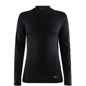 Craft Merino Lightweight - Camiseta de manga larga Mujer - negro